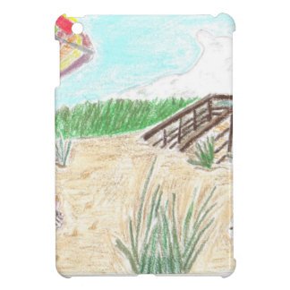 Walk Way to the Beach iPad Mini Cases