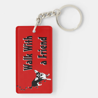 Walk with a Friend Key-chain Keychain