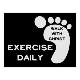 Walk With Christ Poster