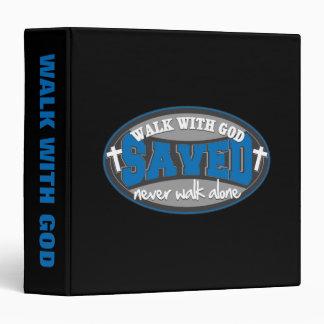 Walk With God(Blue) Binder