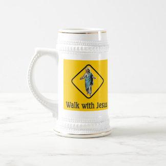 WALK WITH JESUS COFFEE MUGS