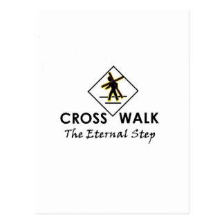 Walk with Jesus - Office and Apparrel items Postcard