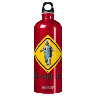 WALK WITH JESUS WATER BOTTLE