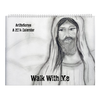 Walk With Me A 2014 Calendar