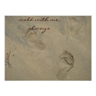 Walk with me, always... poster