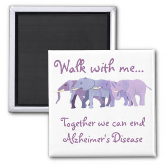 Walk with me magnet