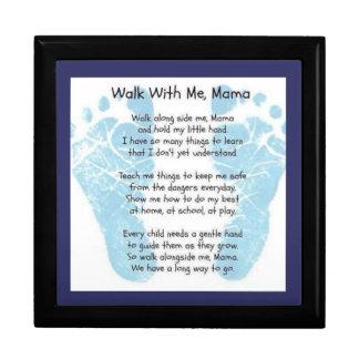 Walk with me Mama Gift Box