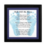 Walk with me Mama Jewelry Boxes