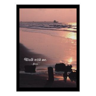 Walk with Me.  POSTER PRINT