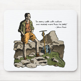 Walk With Nature Mouse Pad