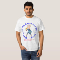 Walk With The Baron T Shirt