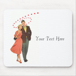 Walk You Home - Love & Romance Vintage Poster Mouse Pad