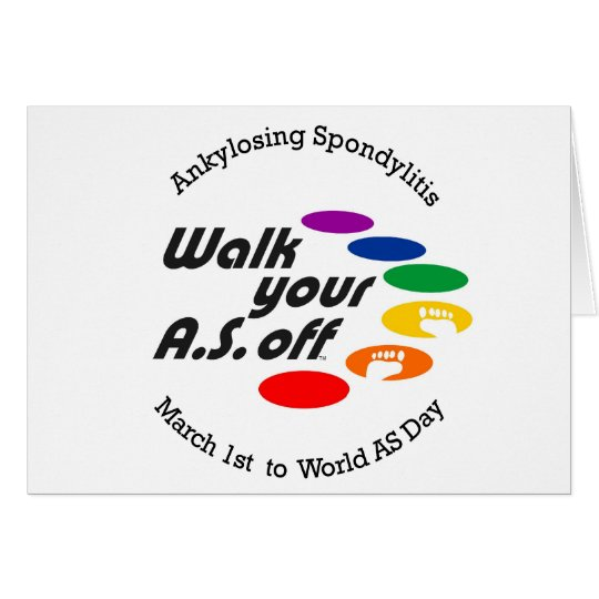 Walk Your A.S. Off Card