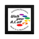 Walk Your A.S. Off Jewelry Boxes