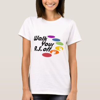 Walk Your A.S. Off - Logo Only T-Shirt