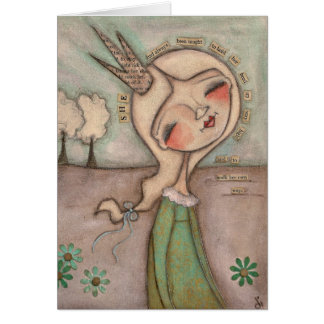 Walk Your Own Way - Greeting CArd