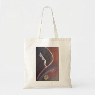 Walk your path tote bag