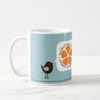 Walkabout Woman Put A Bird On It Mug LFT Hander