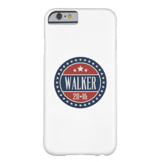 Walker 2016 Badge Stars and Circles Barely There iPhone 6 Case