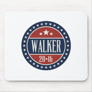 Walker 2016 Badge Stars and Circles Mousepads
