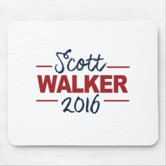 Walker 2016 Campaign Sign Cursive Mouse Pad