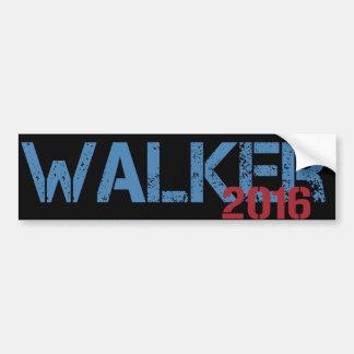Walker 2016 car bumper sticker