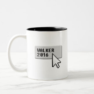 Walker 2016 Click and Choose for President Two-Tone Coffee Mug