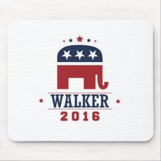 Walker 2016 GOP Elephant Design Mousepad