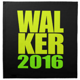 Walker 2016 Neon Design Printed Napkins