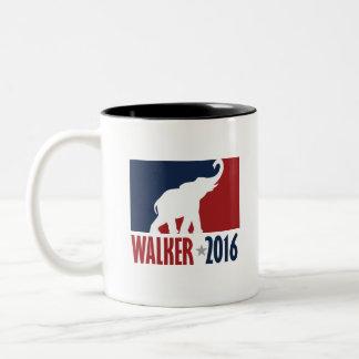 Walker 2016 Pro GOP Candidate Design Two-Tone Coffee Mug