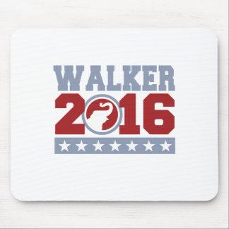 Walker 2016 Round Elephant Design Mouse Pad