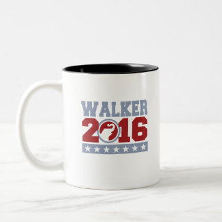 Walker 2016 Round Elephant Design Two-Tone Coffee Mug