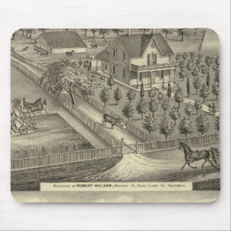 Walker, Ball residences Mouse Pad