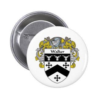 Walker Coat of Arms (Mantled) Pinback Button