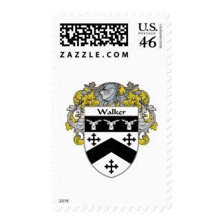 Walker Coat of Arms (Mantled) Postage Stamp