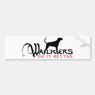 WALKER COON HOUND CAR BUMPER STICKER