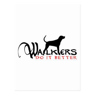 WALKER COON HOUND POSTCARD