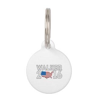 Walker for America in 2016 Pet ID Tags