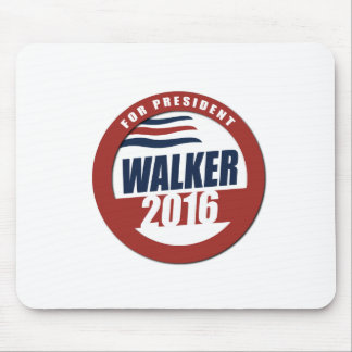 Walker for President 2016 Button Mousepads