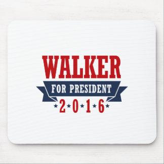 Walker For President 2016 Certified Ribbon Mousepads