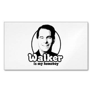 Walker is my homeboy magnetic business cards (Pack of 25)