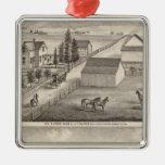Walker, Knittel residences, farms Christmas Tree Ornaments