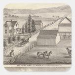 Walker, Knittel residences, farms Sticker
