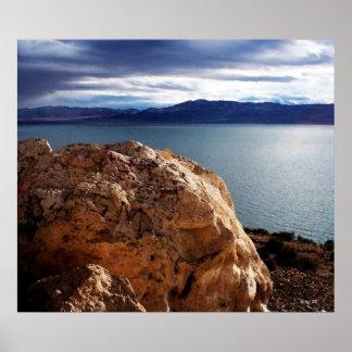 Walker Lake, Nevada Poster