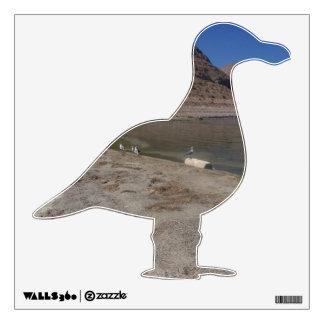 Walker Lake Seagulls Wall Sticker