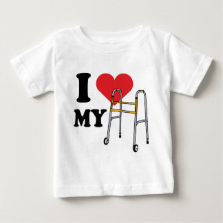 Walker Love Baby T Baby T-Shirt