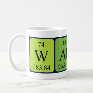 Walker periodic table name mug