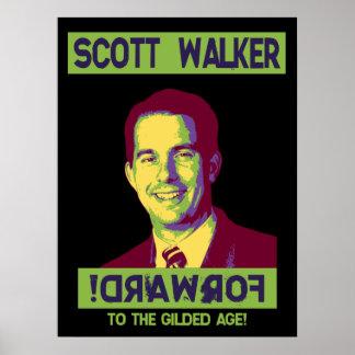 Walker, Scott - !DRAWROF Poster
