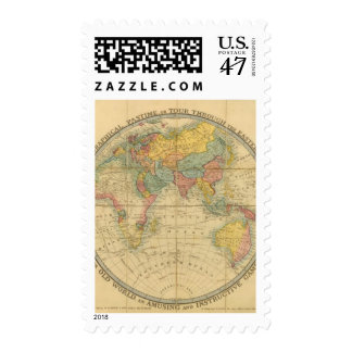 Walker's Geographical Pastime Postage