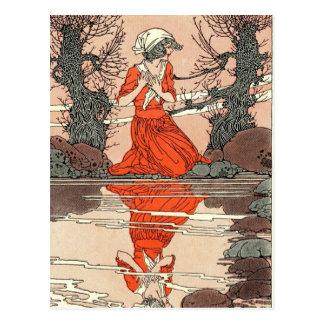Walker's Nature and Myth Illustrations Postcard